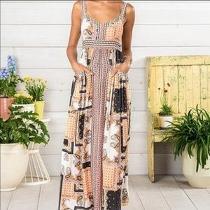 Matilda Jane Perfectly Paisley Maxi Dress